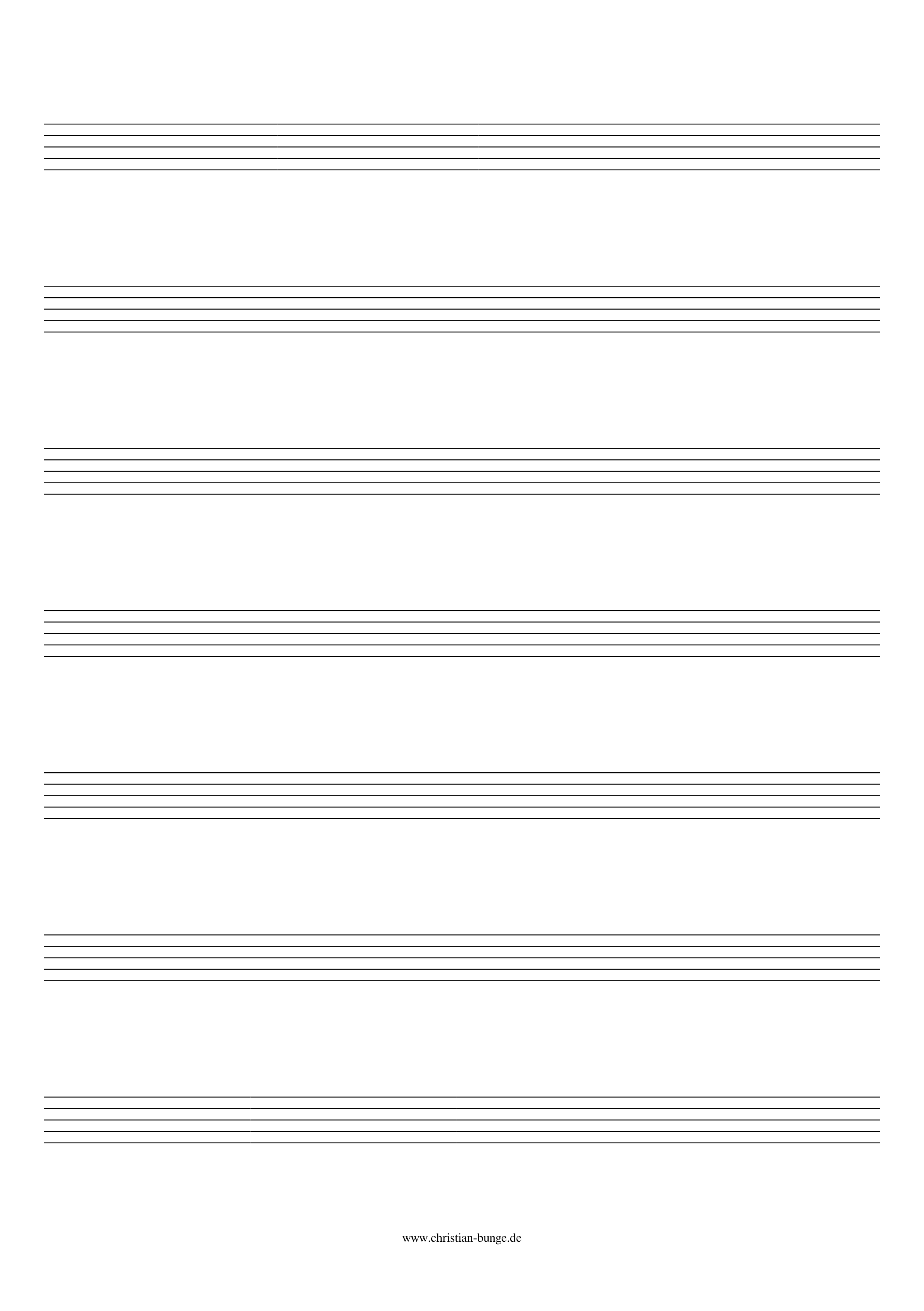 griffdiagramm gitarre blanko